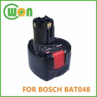 9.6V Replacement Battery for BOSCH BAT048 BAT100 BAT119 PSR 960 GSR 9.6 23609 32609 32609-RT Power Tools Battery