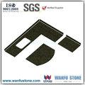 Promoção de desconto superfície sólida bancadas / new chocolate brown bancadas em granito / vários sintético pedra bancadas