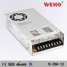 2014 HOT!!! 240W Single output power supply 12v 240w led driver