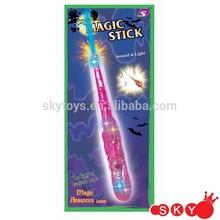 Halloween light spinner wand, light up halloween magic wand light up star wand