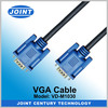 Top Quality Wiring Diagram VGA Cable with 2 Ferrite