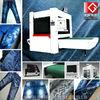 Jeans laser engraver machine for whiskers, monkeys,washing,worn effect