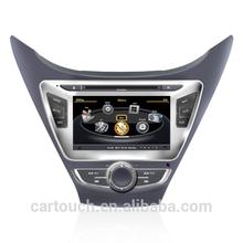 auto parts car audio monitor for hyundai elantra 2012 2013 2014 gps navigation accessories