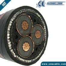 7.MV 3C copper XLPE SWA PVC Power Cable