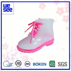 Japanese Style PVC rain boots for children C
