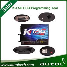 2014 New Without Tokens limitation Design KTAG K-TAG ECU Programming Tool master version v1.89 ECU programmer,Jtag compatible