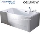 Single Protable New Style Whirlpool apron corner bathtub