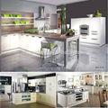 Personalizado Modular melamina MDF da laca armários de cozinha modernos autocad