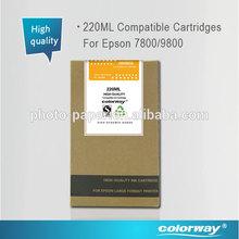 Epson7600/9600 Compatible ink cartridge 220ml C/VM/Y/PK/LC/LM/LK/MK/LLK