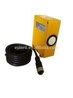 Q30 series Metal housing square type analog output ultrasonic sensor