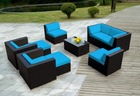 Aluminum outdoor wicker furniture set sofa sets luxury sets