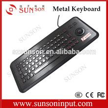 Russian input Custom metal keyboard for computer