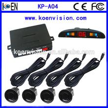 LED Parking Sensor System Car Reverse Backup Radar With LED Display Ground Detect Free