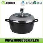 Red Cooking pot set with sauce pan set stone pan