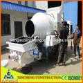 Caliente- la venta portátil de pequeño camión mezclador de concreto hidráulico de la bomba