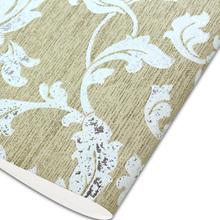 Elegant gold foil vinyl wallpaper stocklot