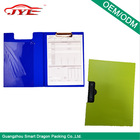 2014 wholesale multifutional document folder folding double PP clipboard for promotion