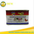 198g canned chicken luncheon meat factory price