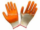 13G nylon coated nitrile hand drilling gloves