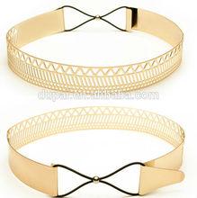fashion Golden metal paillette belt for sexy lady
