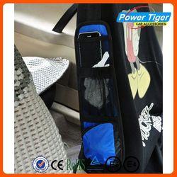 Waterproof back seat side organizer for kids