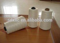 Heat resistant fiberglass sewing thread with ptfe/teflon coating