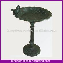 decorative antique cast iron pet bowls & feeders