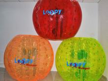 hot sale popular bubble ball/ bubble football equipment PVC and TPU Bumper Balls