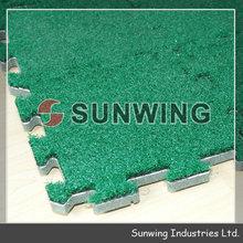 DIY indoor &outdoor mosiac fake grass tiles
