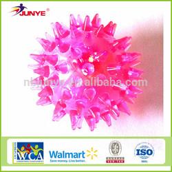 ningbo junye pink bouncing rubber ball