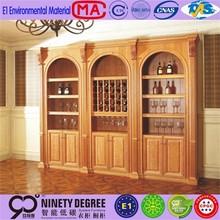 european internal funroad new design corner wine cabinet