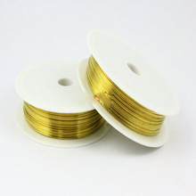 0.8 mm gold filled copper jewellry craft wire with good prices