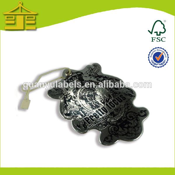 ที่นิยมอ่อนกระดาษแท็กแขวนกับตาไก่สำหรับถุงมือในประเทศจีน