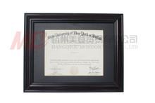 Certificate & Diploma Frames University