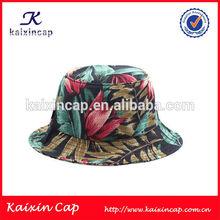 Floral Fabric Plain Short Brim Bucket Hat Fishing Men Cap With Your Own Custom Design New Arrival Wholesale
