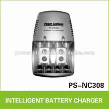 AA/AAA/9V battery charger