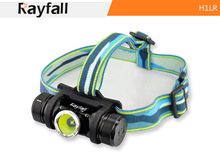 Rayfall Advanced Pro Headlight CE approved waterproof headlamp,Cree T6 headlamp, led camping headtorch