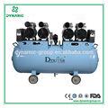 Dynair el CE y la ISO aprobado 2 años de garantía Dental compresor de aire móvil DA7004