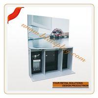 Customize 10ft fabric wall e-juice display case