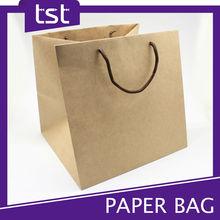 Natural Brown Kraft Paper Bags with Handles