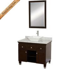 Exported bathroom cabinet with mirror german style bathroom vanity