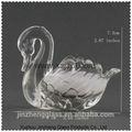 Cisne de suporte de vela, louça de vidro, casamento, decoração para casa