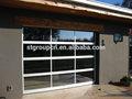Iso ce y sgs certificado de luxery puerta de garaje seccional/rodillo de la puerta del garaje/de aluminio de la puerta del garaje paneles