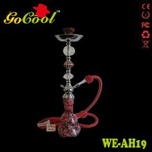 2014 new glass e hookah cigarette 800 puffs