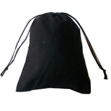 custom dustbag black cotton dust bag
