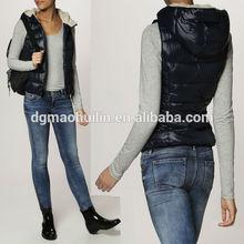 hot sale winter women cotton padded clothes wholesale padding vest