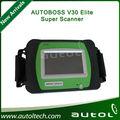 Venta al por mayor 100% original autoboss v30 elite super genuino universal escáner coche llave de programación, electrónico de freno de estacionamiento, servic