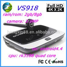 tv tuner box for lcd monitor hdmi Kitkat XBMC RK3188 Quad Core Android TV Box Q7s