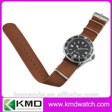 China manufacturing custom men watch nylon band royal military watch