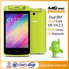 Cheap dual core 1.2ghz touch screen telefon android wcdma dual sim